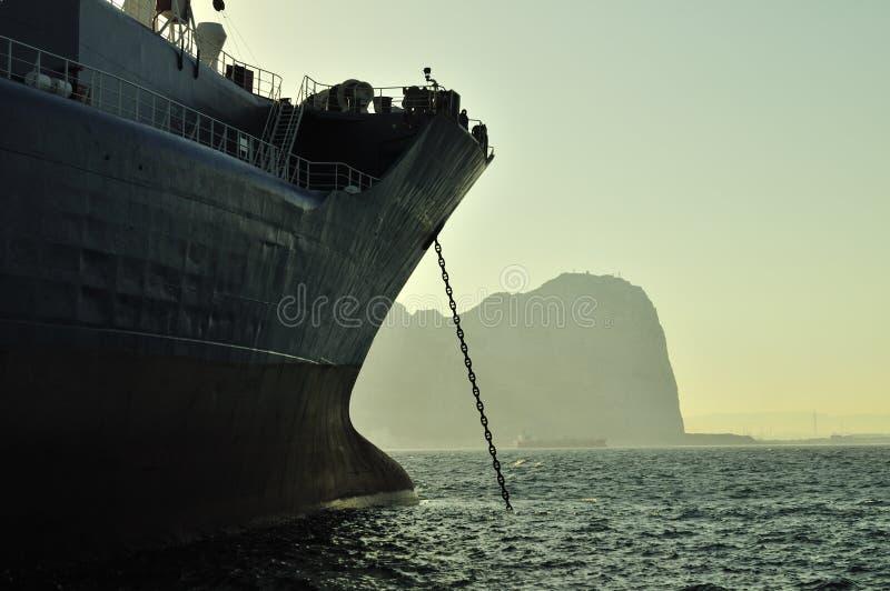tankfartyg för olja för gasgrudeindustri royaltyfria foton