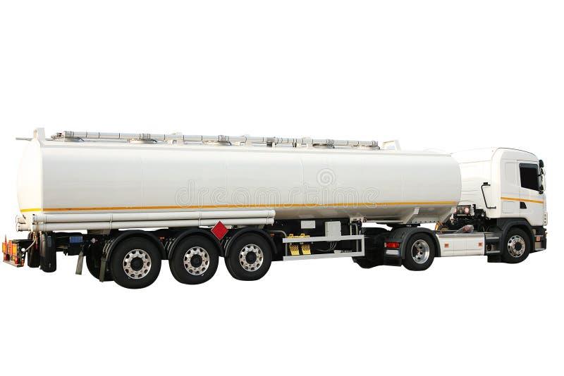 Tankowiec dla transportu rozpuszczalnik obraz stock