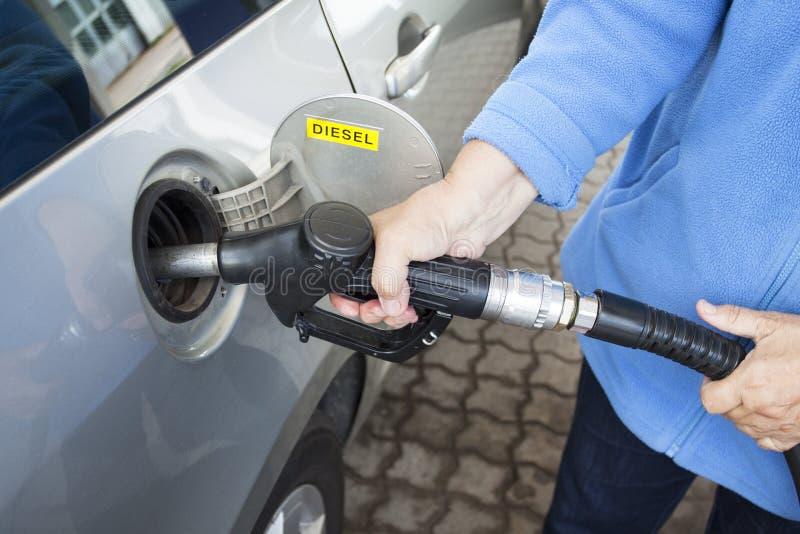 Tanksäule Stockfoto