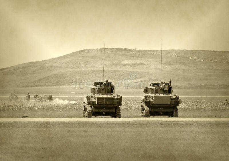 Download Tanks In Battle Stock Photo - Image: 18897450