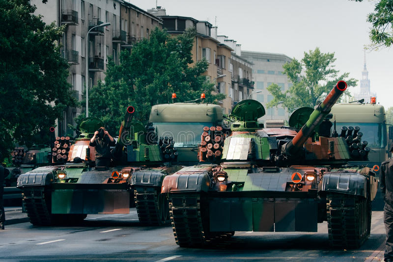 Download Tanks in the city stock photo. Image of military, street - 16961344