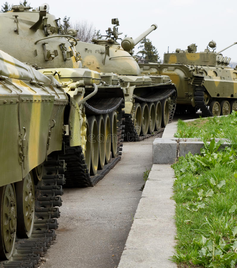 Download Tanks column stock image. Image of truck, russian, ukraine - 27491211