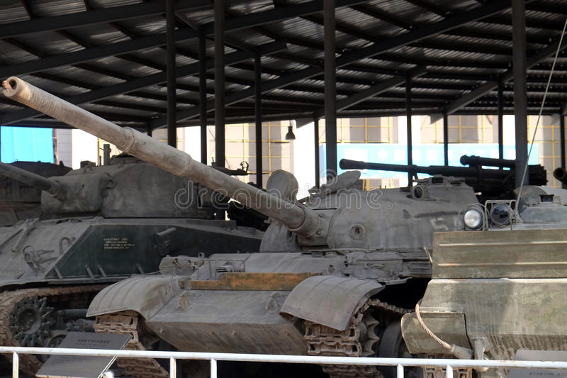 Tanks in the Military Museum of the Chinese People`s Revolution in Beijing royalty free stock images