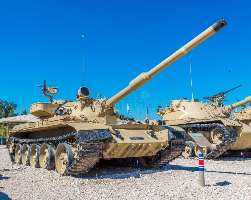 Tanks in museum stock fotografie