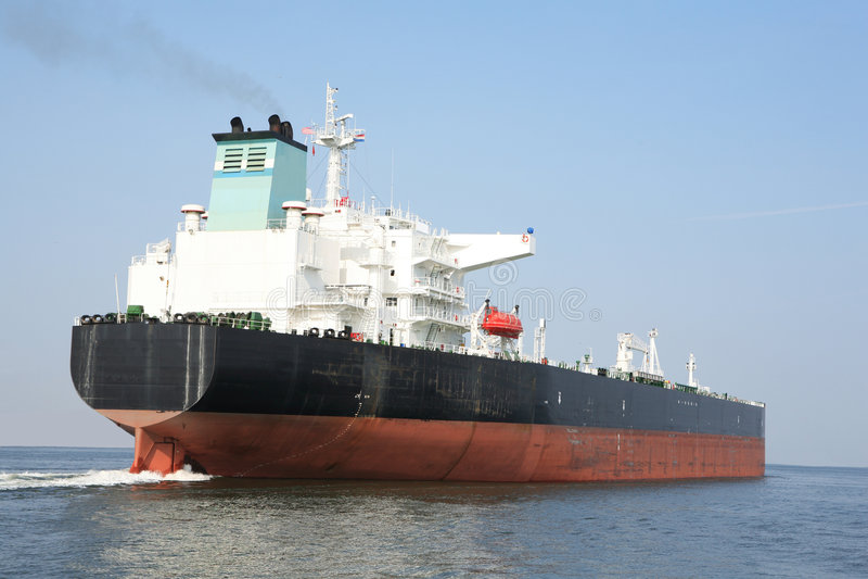 Tankship immagini stock