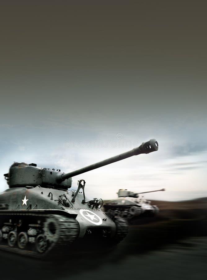 Tankslag royalty-vrije stock fotografie