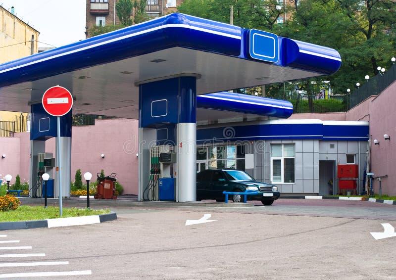 Tankstelle lizenzfreie stockfotos