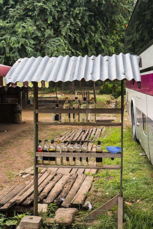 Tankstelle Myanmar lizenzfreie stockbilder