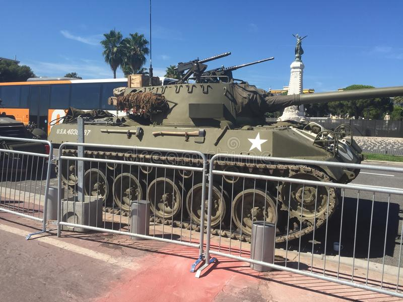 Tankwereldoorlog 2 stock fotografie