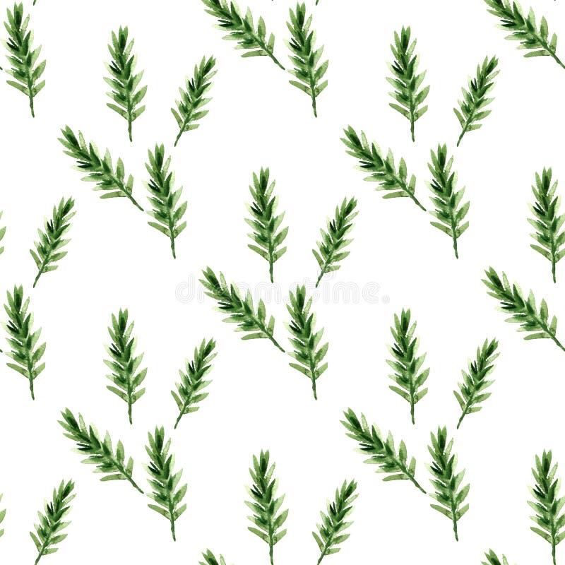Tanne pattern1 lizenzfreie abbildung