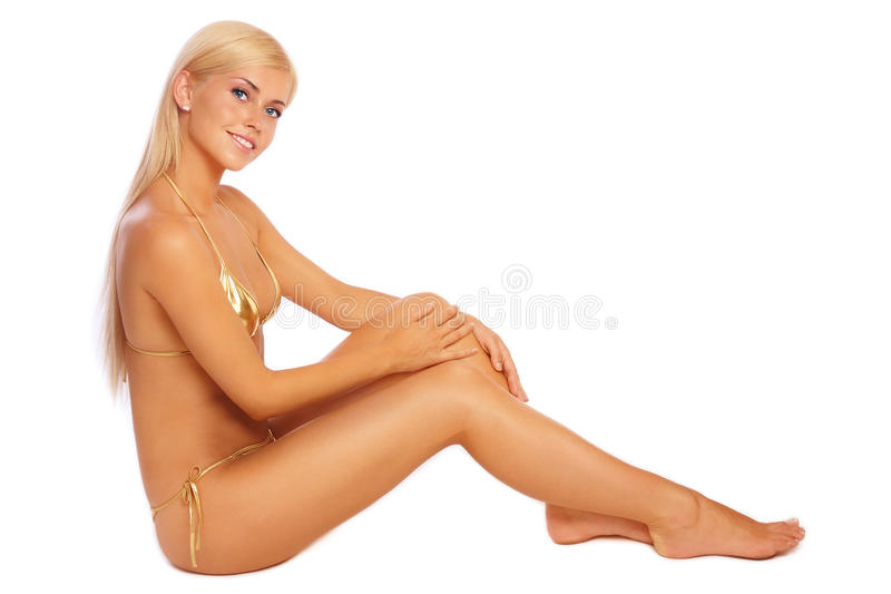 Tanned Beauty Stock Photos