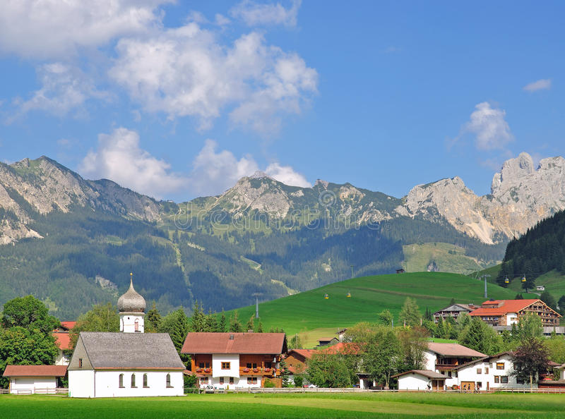 Tannheim, Tannheimer Tal, le Tirol, Autriche photographie stock