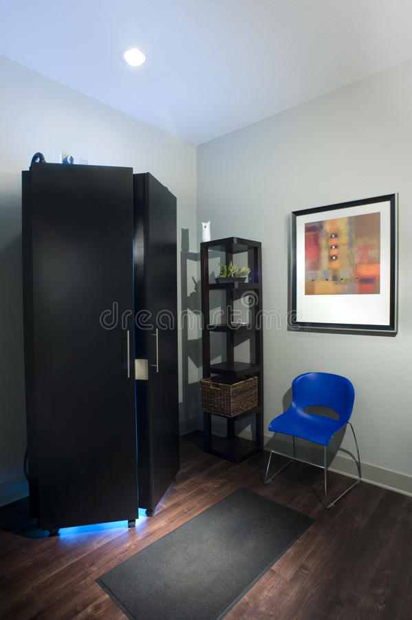 Download Tanning Room stock image. Image of bake, tanning, dark - 32123755