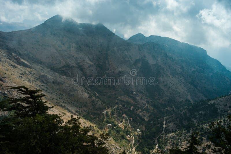 Tannourine-Tal, der Libanon. lizenzfreies stockfoto
