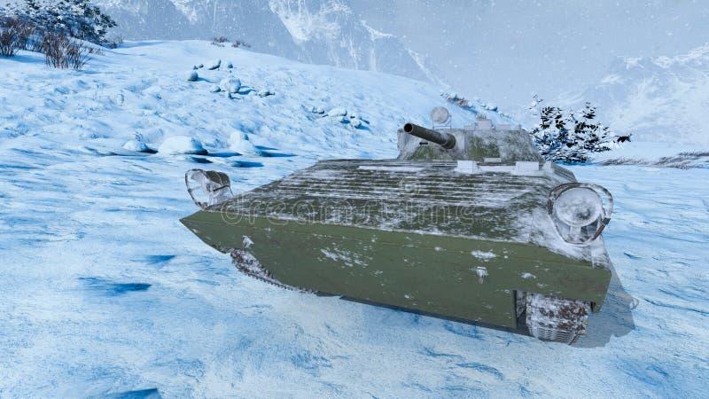 tanque ilustración del vector