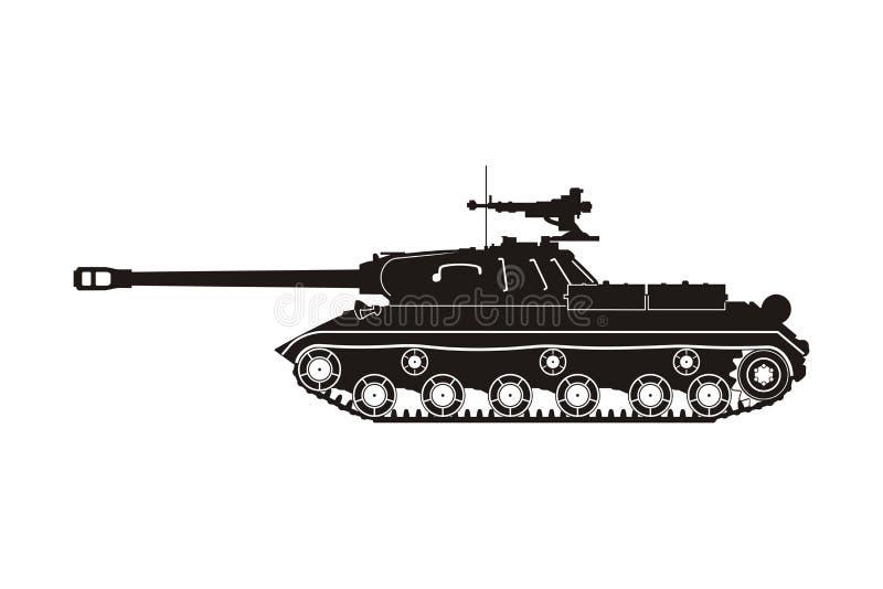 Tanque IS-3 ilustração stock
