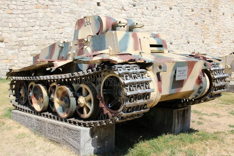 Tanque alemão fotografia de stock