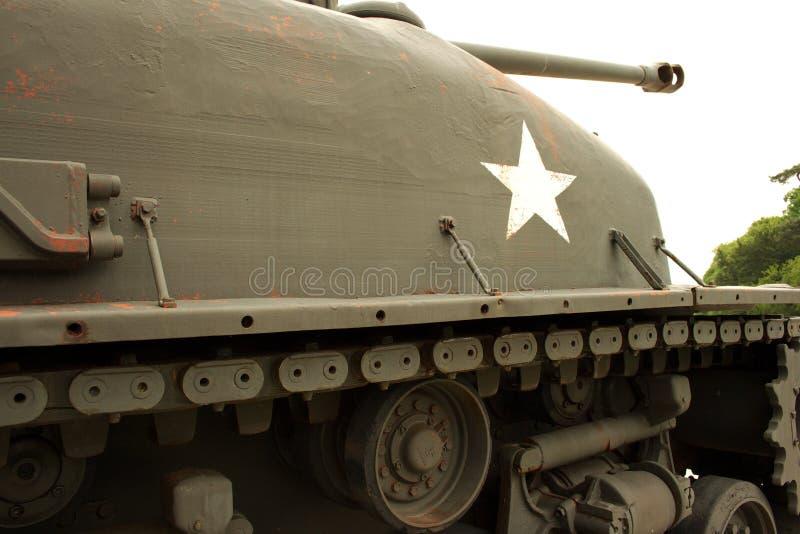 Tanque americano velho fotos de stock