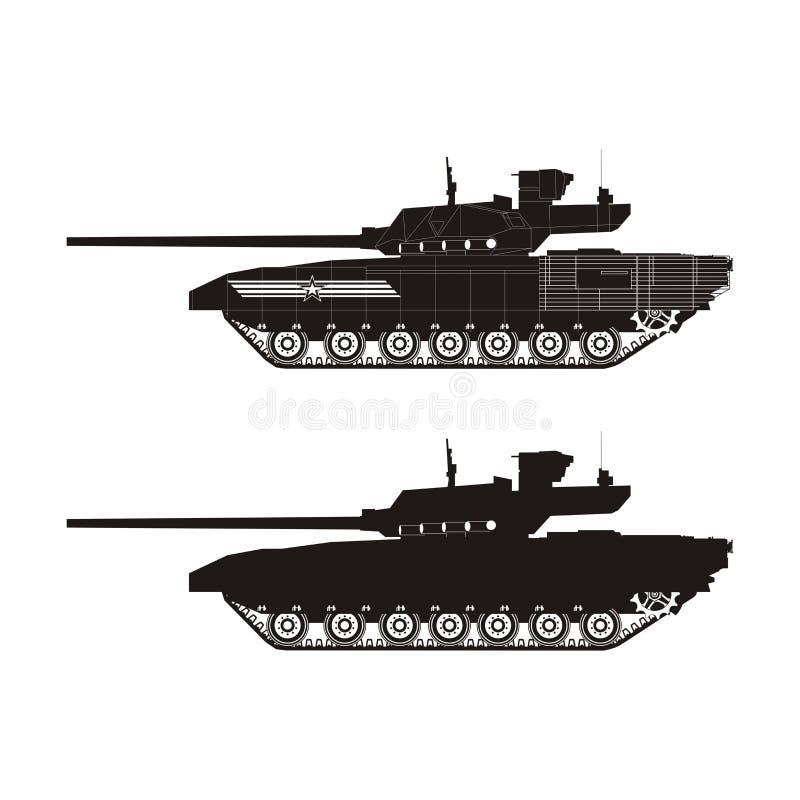 Tanque Armata ilustração stock