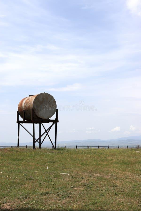 Tanque de água imagem de stock
