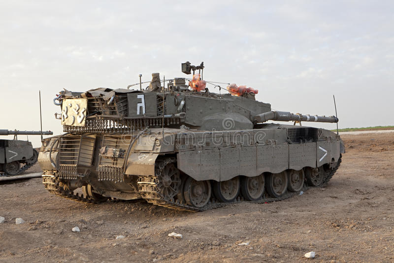 Tanque de batalla principal de Merkava Mk 4 Baz foto de archivo
