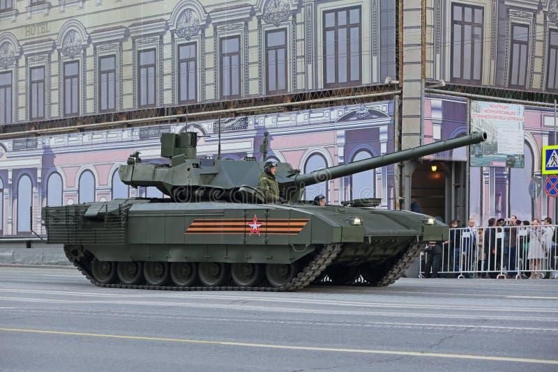Tanque de batalla principal de T-14 Armata fotos de archivo libres de regalías