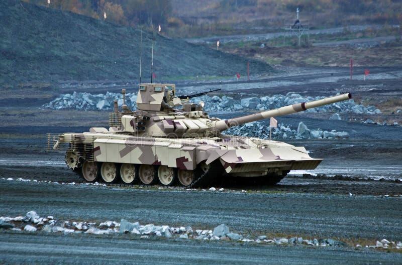 Tanque de batalla principal ruso de T-90MC imágenes de archivo libres de regalías