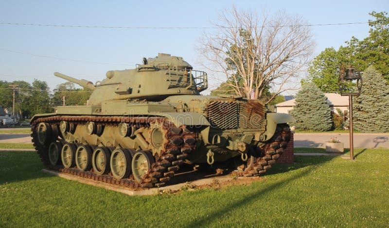Tanque de exército dos EUA fotografia de stock