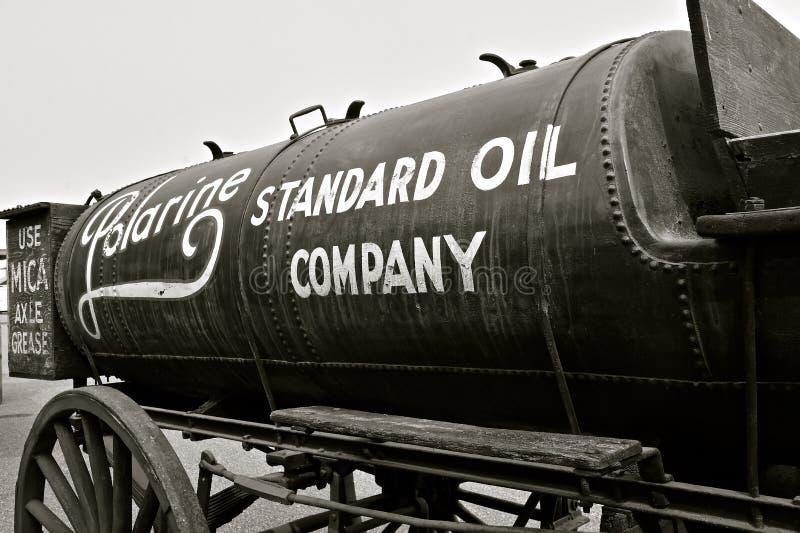 Tanque de gás de Padrão Oil Empresa petrolífera imagem de stock
