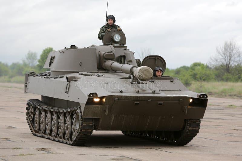 Tanque de guerra búlgaro do exército imagem de stock royalty free