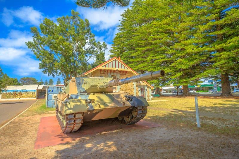 Tanque de leopardo Austrália imagem de stock royalty free