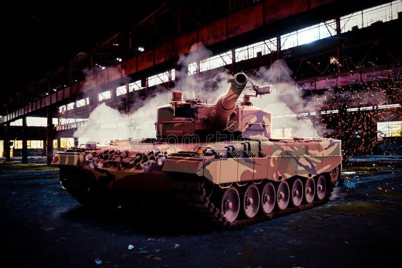 Tanque de leopardo moderno imagem de stock royalty free