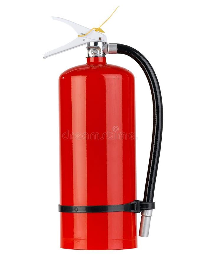 Tanque do extintor de incêndio foto de stock royalty free