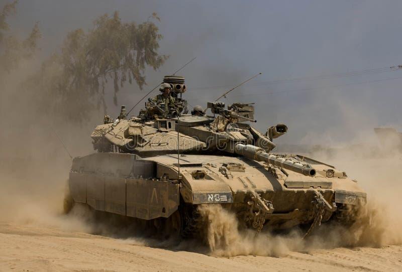 Tanque do IDF foto de stock royalty free