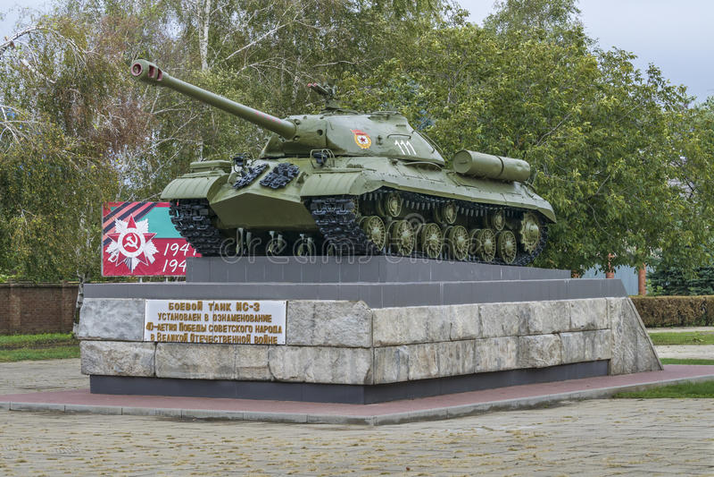 Tanque militar is-3 imagem de stock