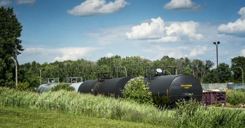 Tanque químico Railway fotos de stock