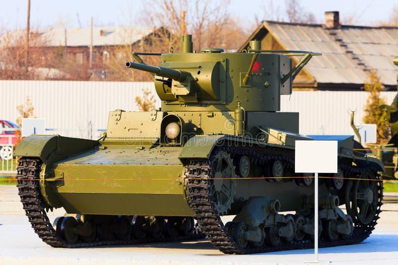 Tanque soviético fotografia de stock royalty free