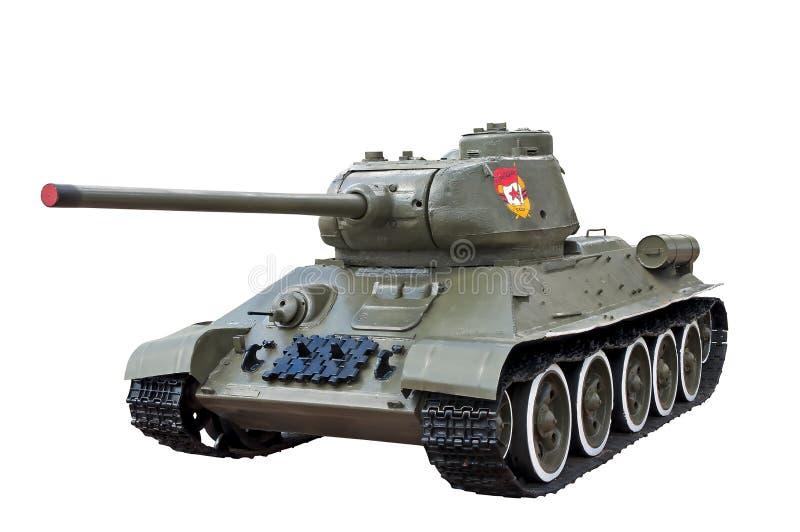 Tanque soviético legendário t34 da segunda guerra mundial fotos de stock