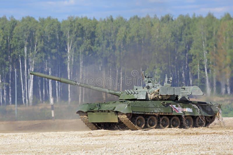 Tanque T-80 imagens de stock