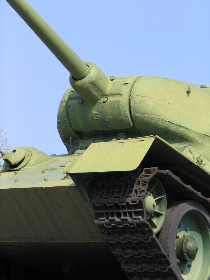 Tanque velho ?-34 do russo imagens de stock royalty free