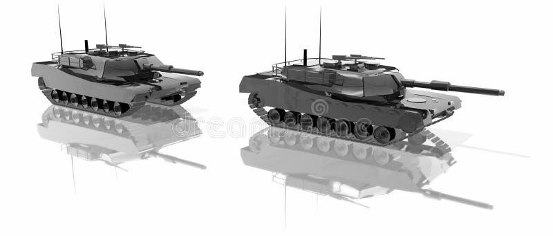Tanques ilustração stock