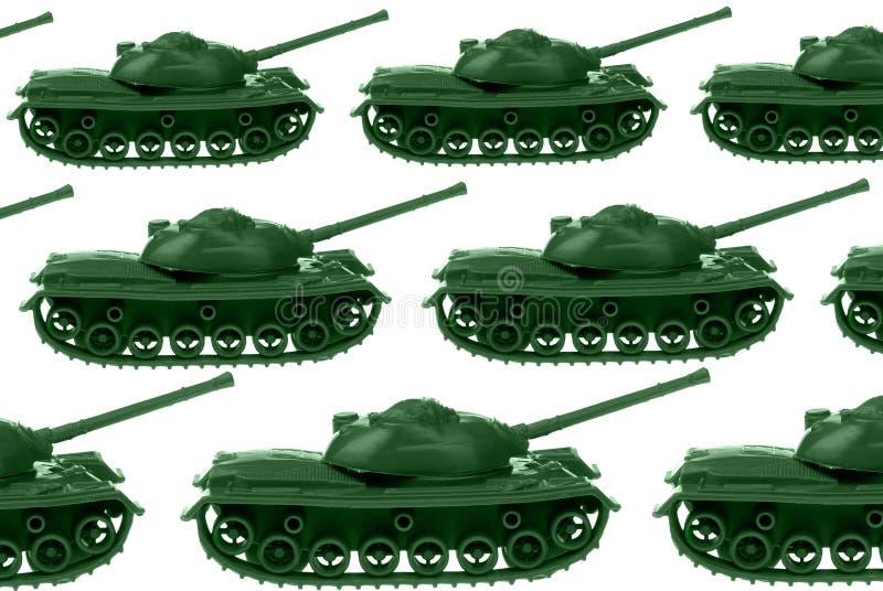 Tanques de exército do brinquedo imagem de stock
