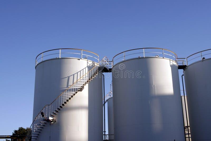 Tanques industriais fotos de stock royalty free