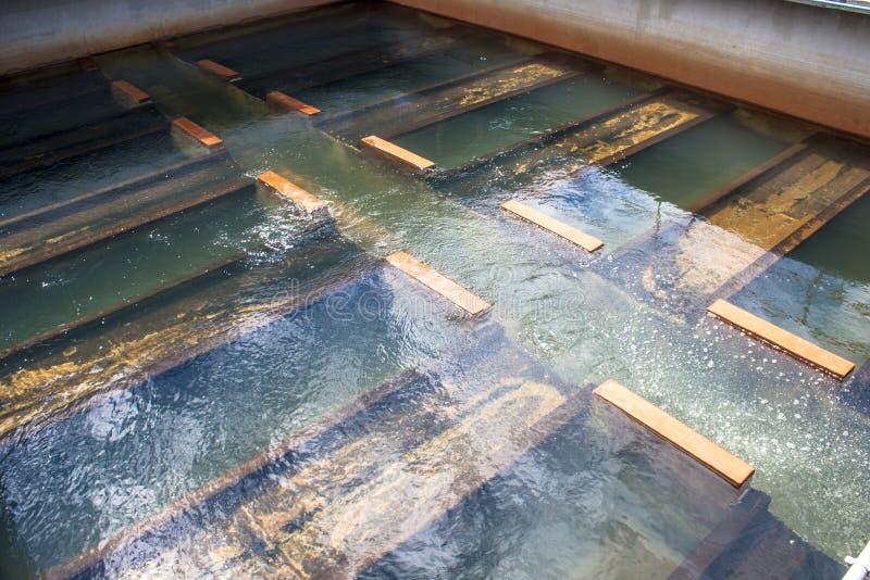 Tanques para o tratamento da água foto de stock royalty free