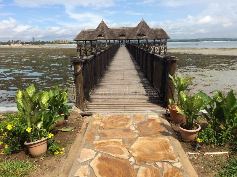 Tansania-Strand stockbilder