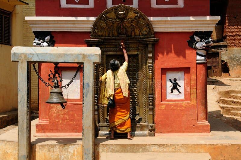Tansenstad in Nepal royalty-vrije stock afbeeldingen