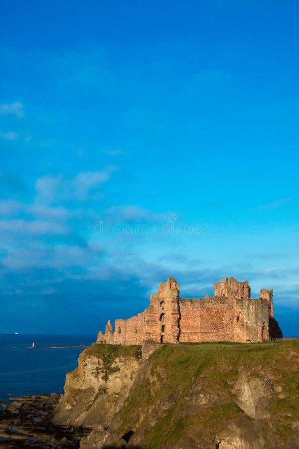 Tantallon城堡苏格兰英国欧洲 免版税库存照片