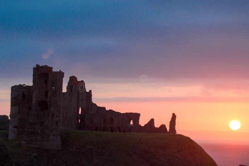 Tantallon城堡苏格兰英国欧洲 库存图片