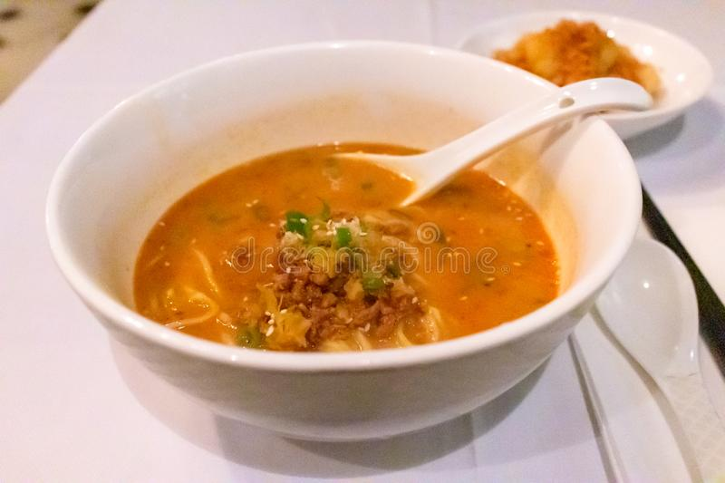 Tantan noodles royalty free stock images