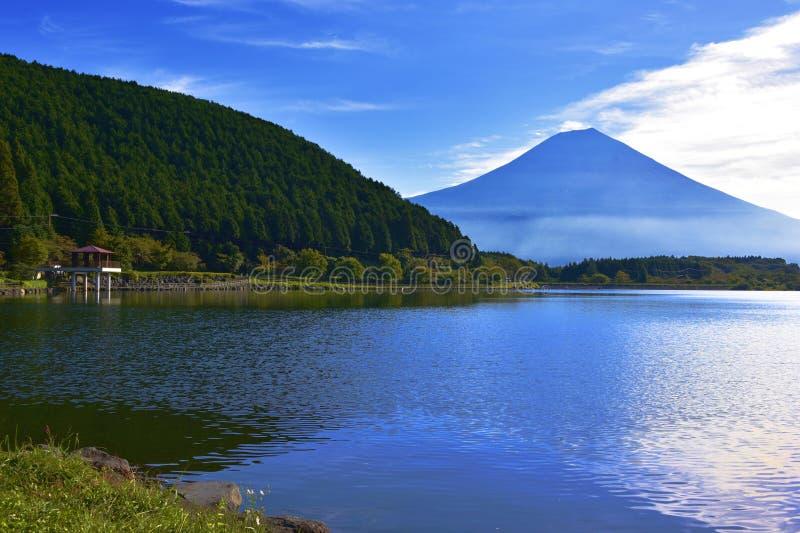 Tanuki Lake. Tanuki is a lake near Mount Fuji, Japan. Located in Fujinomiya, Shizuoka Prefecture, and is part of the Park National Fuji-Hakone-Izu. Originally a royalty free stock photos